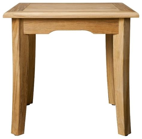 Smith And Hawken Teak Outdoor Table by Smith Hawken 174 Premium Quality Avignon 174 21 Quot Teak Side
