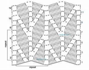 Ergahandmade  Crochet Stitch   Diagram   Free Pattern Step