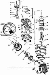 Campbell Hausfeld Vt2333 Parts Diagram For Pump Parts