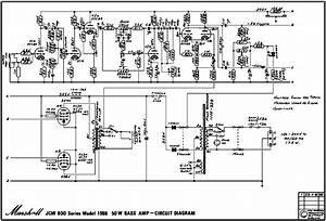 Pido Ayuda Marshall Jcm 800 Series Model 1986 Bass 50w