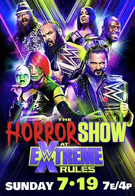 The Horror Show At Extreme Rules July 19, 2020   Horror ...