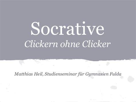Socrative Garden by Socrative Clickern Ohne Clicker