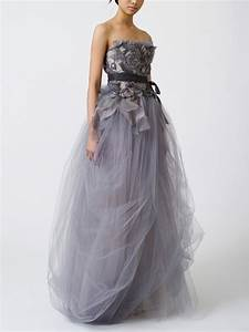 team wedding blog colorful wedding gowns silver inspiration With grey wedding dresses
