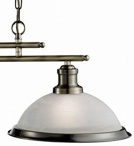 Bistro retro antique brass lamp kitchen pendant light