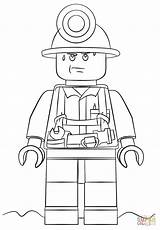 Coloring Lego Pages Printable Popular sketch template