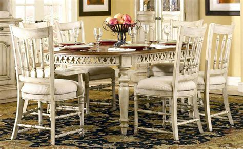 smart french provincial dining table white furniture