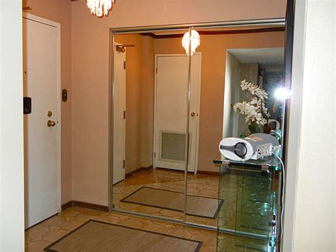 Mirror Sliding Closet Doors  Cascade Glass