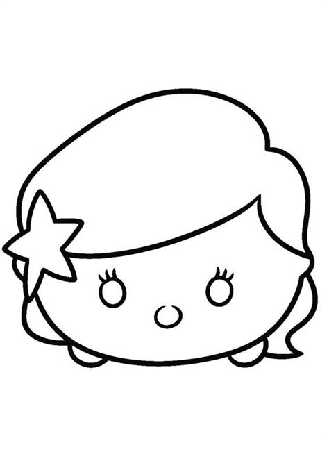 Coloring Tsum Tsum by Tsum Tsum Coloring Sheets Coloring Pages