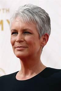 Coupes Cheveux Courts Femme : coupe courte femme cheveux blancs ~ Melissatoandfro.com Idées de Décoration