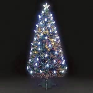 buy 3ft colour changing aurora pine cone fibre optic christmas tree from our christmas trees