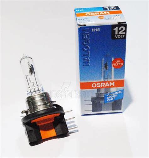 original osram h15 15 55w 12v replacement bulb oe part