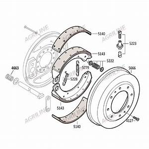 Brake Shoe Retaining Kit