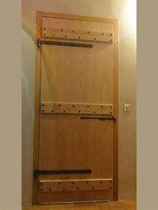 Porte D Intérieur Sur Mesure : creation d 39 une porte d 39 int rieur sur mesure en ch taignier ~ Dailycaller-alerts.com Idées de Décoration