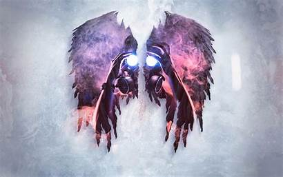Mask Gas Wallpapers Background Masks Oni Wings