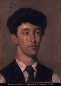 Portrait of a Youth - Sir William Newenham Montague Orpen ...