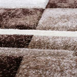 Bettumrandung Teppich Günstig : bettumrandung teppich marmor optik karo braun beige creme l uferset 3 tlg alle teppiche ~ Markanthonyermac.com Haus und Dekorationen