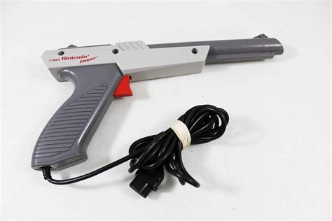 nintendo light gun nintendo nes grey light zapper gun