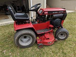 New 314-8 Owner  Tips  - Wheel Horse Tractors