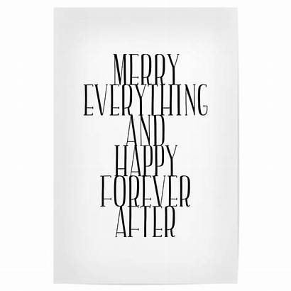 Merry Forever Everything Poster Happy Artboxone