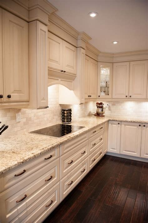 magnificent cream color kitchen cabinets  pictures