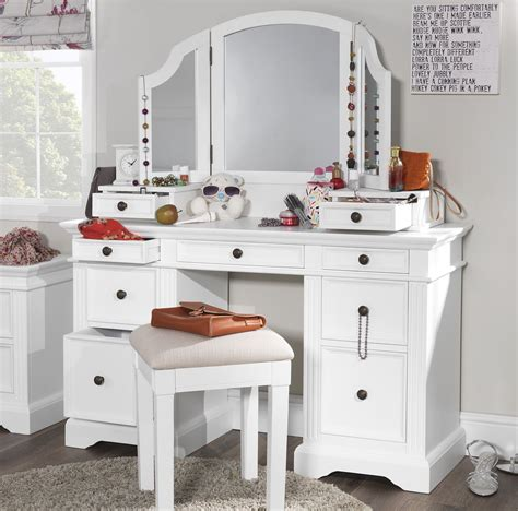 gainsborough white dressing table set dressing table