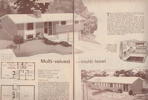 split level  home plan american home magazine