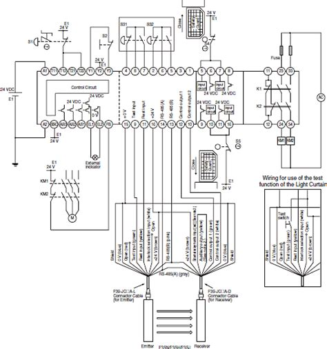 circuit diagrams  safety components technical guide australia omron ia