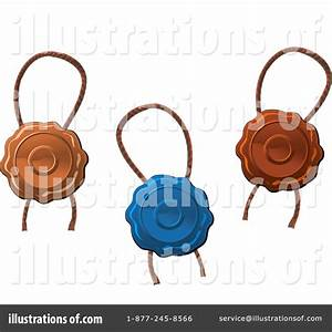 Wax Seal Clipart #1065181 - Illustration by Vector ...