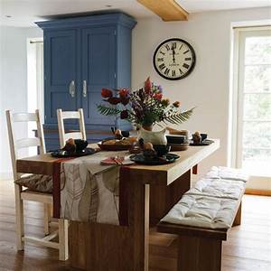 Artisan country style dining room dining room for Country style dining rooms