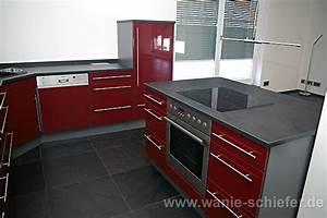 Rote Arbeitsplatte Küche : wanie raum stein deutschlandweit schiefer exklusiv ~ Sanjose-hotels-ca.com Haus und Dekorationen