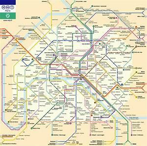Horaire Ouverture Metro Paris : plan du m tro de paris ~ Dailycaller-alerts.com Idées de Décoration