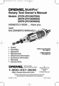 Dremel 395t6 Tools Download Manual For Free Now