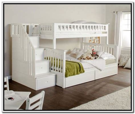 bunk beds  stairs ashley furniture woodworking