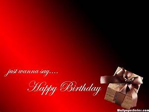 HD Happy Birthday Red Gift Wallpaper Download Free - 139239