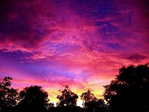 Fiery Pink Sunset 2 Wallpaper by richardxthripp on DeviantArt