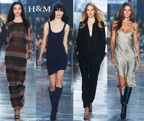 hm fall winter   womenswear fashion
