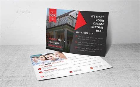 real estate postcards templates