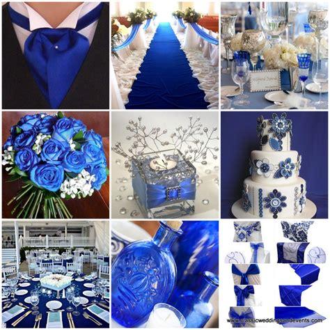 classic weddings   royal blue wedding ideas
