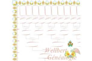 Fill Blank Family Tree Template