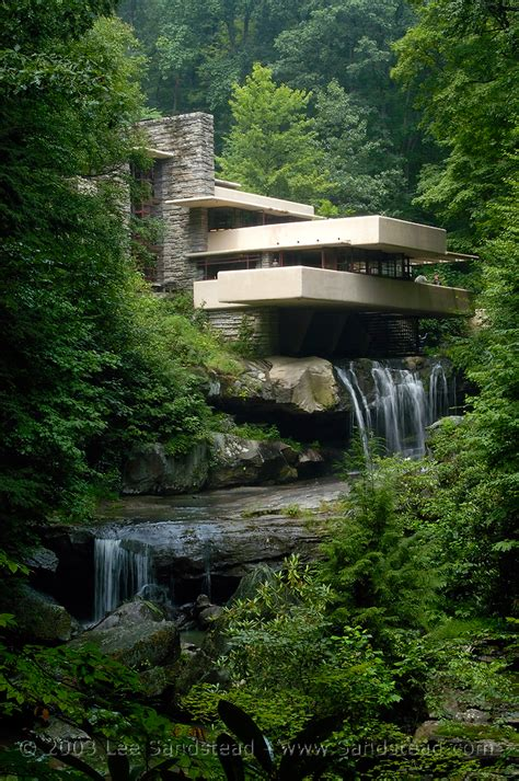 waterfalls in home fallingwater frank lloyd wright