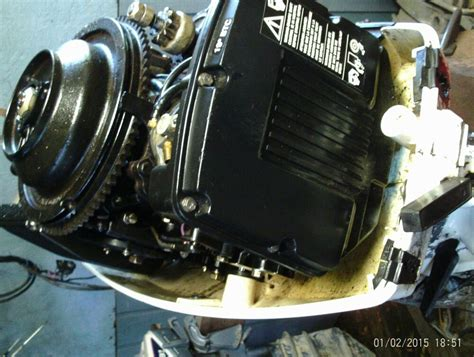 98 Johnson Evinrude Omc 48 Hp Outboard Motor Complete