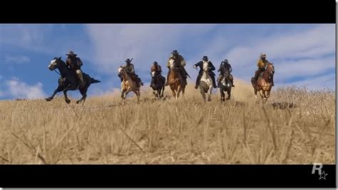 Canoes Red Dead 2 by Red Dead Redemption 2 S First Trailer Appears Siliconera