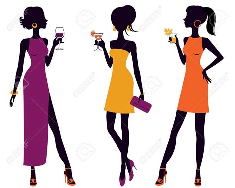 vintage cocktail party clipart vintage cocktail party clipart clipground