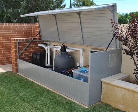 outdoor storage boxes ideas  pinterest