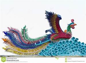 Phoenix Statue Chinese Style Stock Photo - Image of bird ...