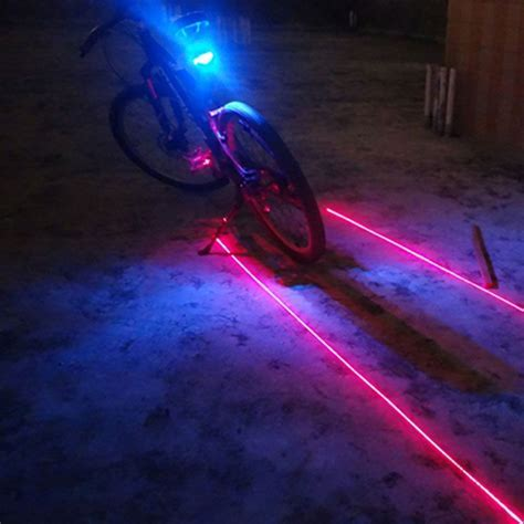 Cycle Light Bike Lights Waterproof Battery Operated for