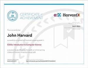What types of certificates does edX offer? – edX Help Center