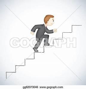 Stair climb clipart - Clipground