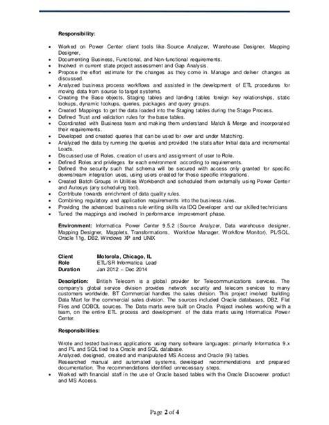 Sas Bi Developer Resume by Abdul Etl Resume