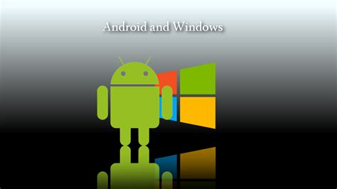 android windows android and windows 8 wallpaper by windows7starterfan on